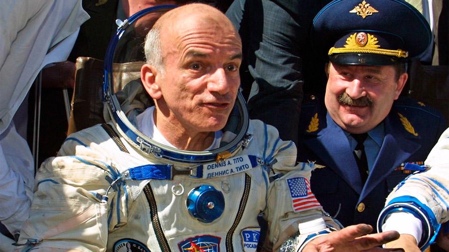 El turismo espacial cumple 16 años. El viaje de Dennis Tito