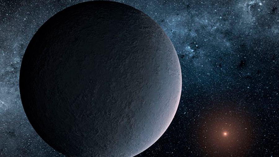 Localizado un remoto planeta 'bola de hielo' del tamaño de la Tierra
