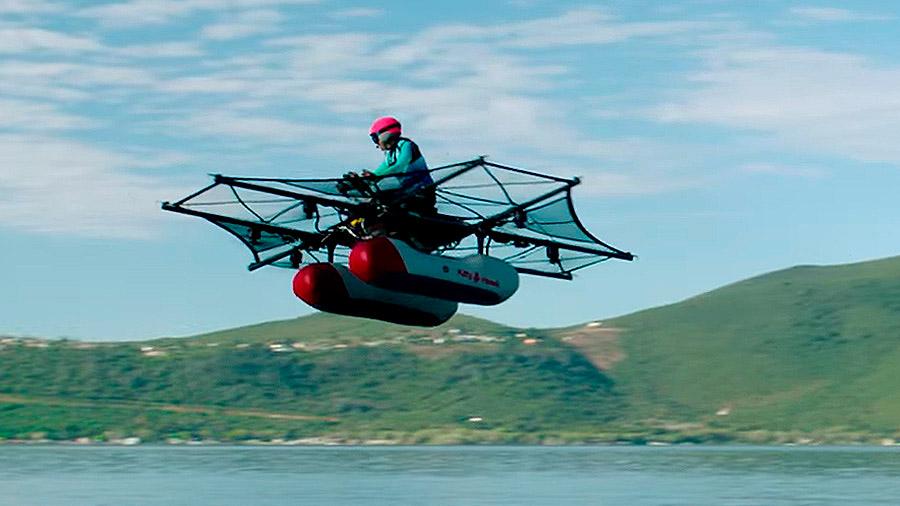 El primer vehículo volador individual