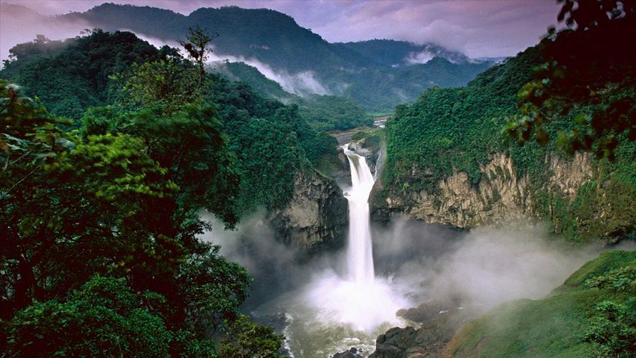 La Tierra se hundió dos veces, inundando el Amazonas Oriental