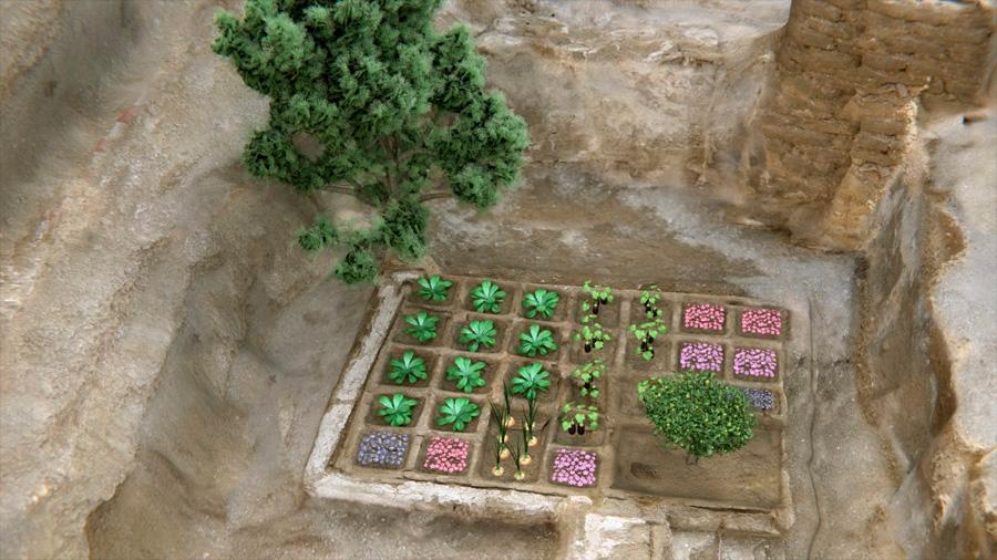 Descubren en Luxor un jardín funerario de hace 4,000 años