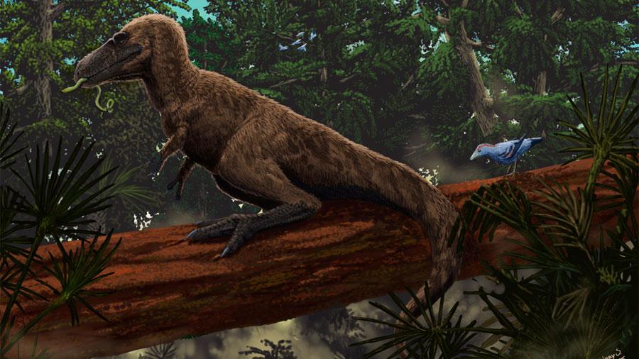 Descubren a uno de los últimos dinosaurios de África