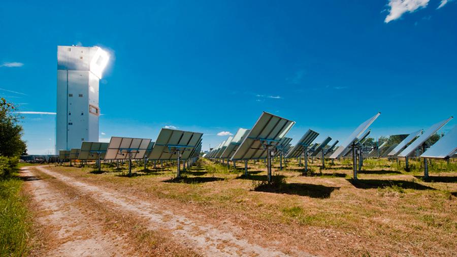 Azufre para almacenar energía solar