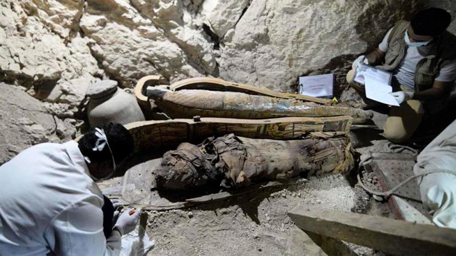 Descubierta la cámara mortuoria de la hija de un faraón