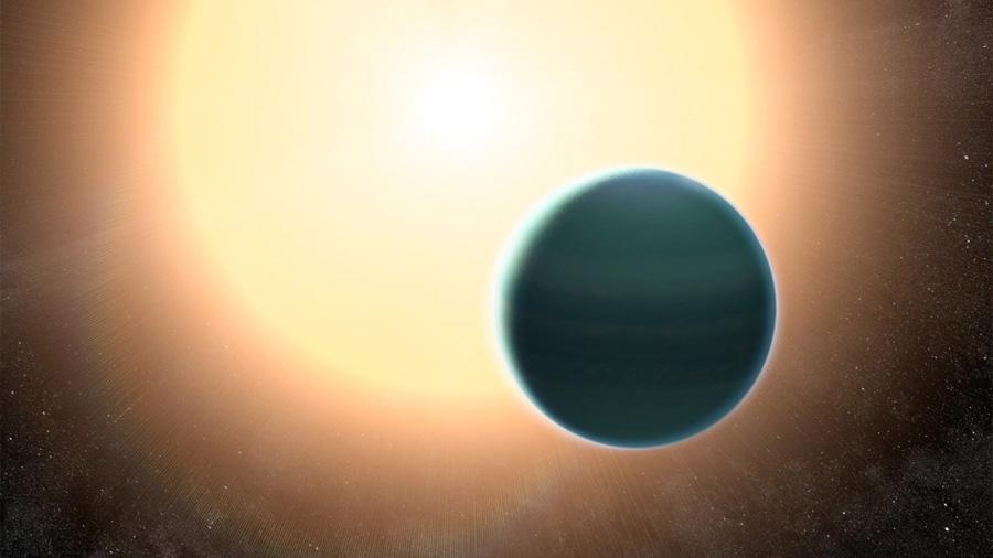 Descubren un exoplaneta parecido a Neptuno a 437 años luz de la Tierra