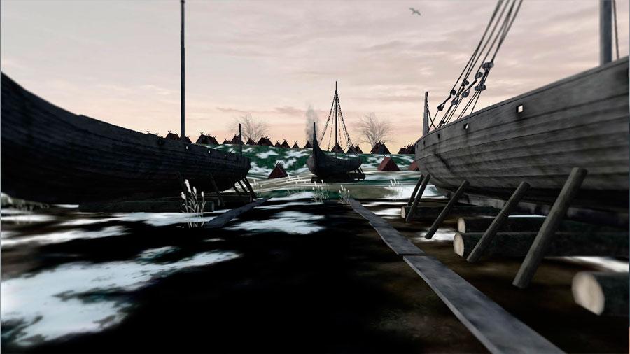 Restos de un gran campamento vikingo aparecen en la campiña inglesa