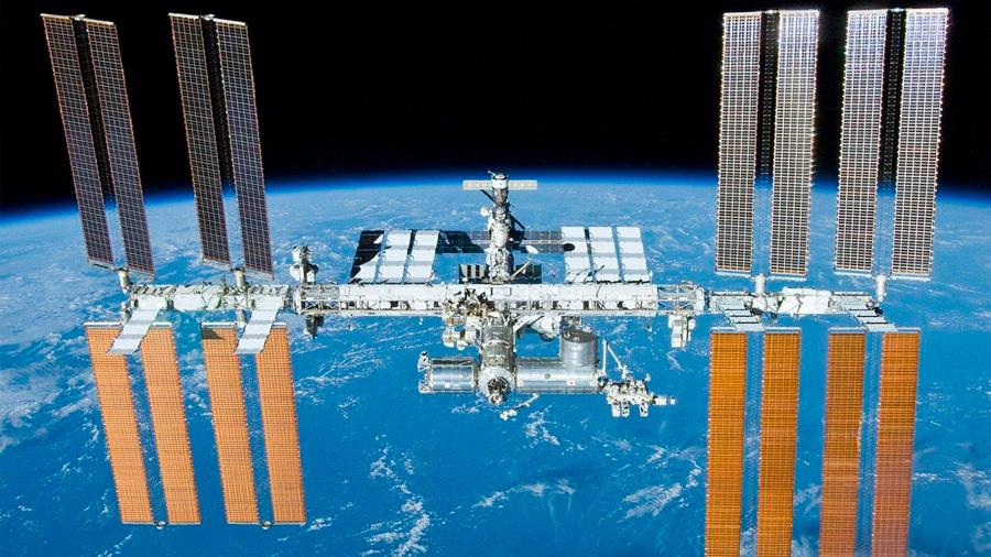 Reparación de emergencia en la Estación Espacial