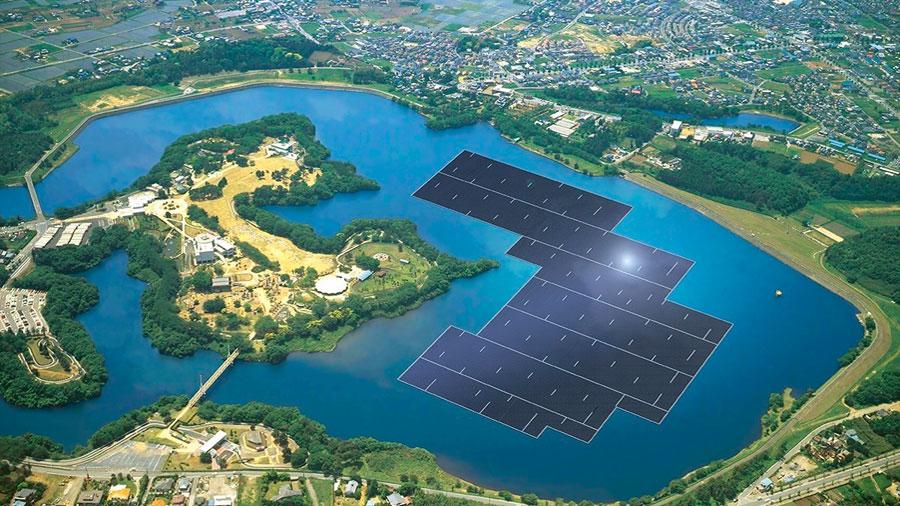 Esta es la planta solar flotante más grande del planeta, China se esfuerza por convertirse en verde