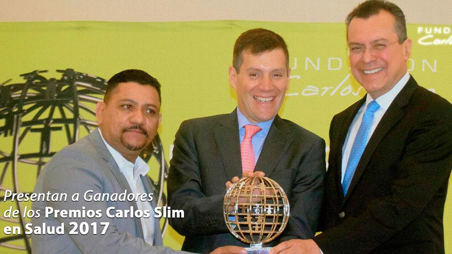 Tuberculosis y VIH, temas reconocidos por Premio Carlos Slim en Salud 2017