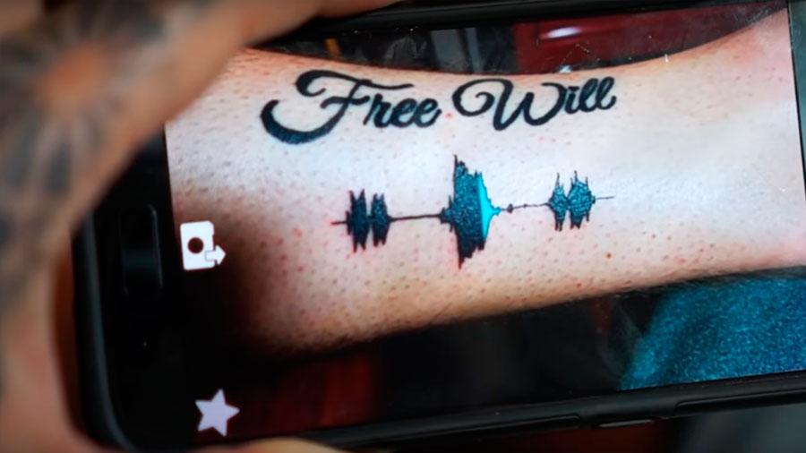 Crean tatuajes con sonido