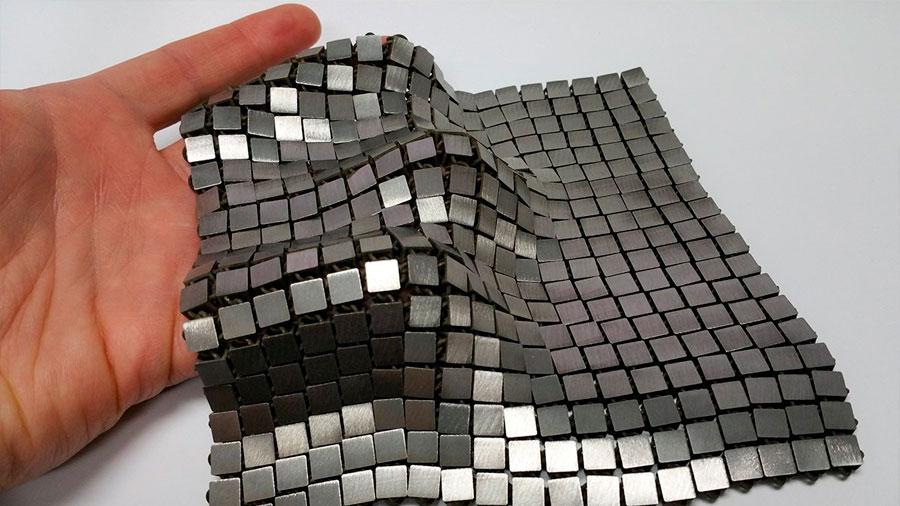 Un ingeniero crea para la NASA una tela espacial inteligente con la impresión 4D