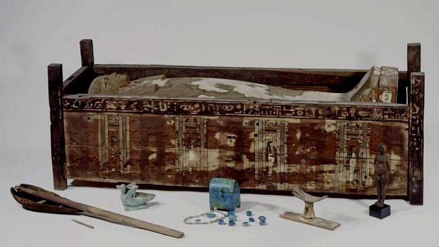Analizado por primera vez el genoma completo de tres momias egipcias
