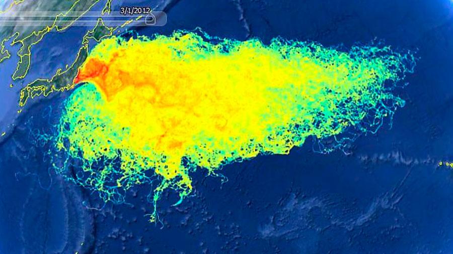 La radiación de Fukushima ha contaminado todo el Océano Pacífico, y se pone cada vez peor