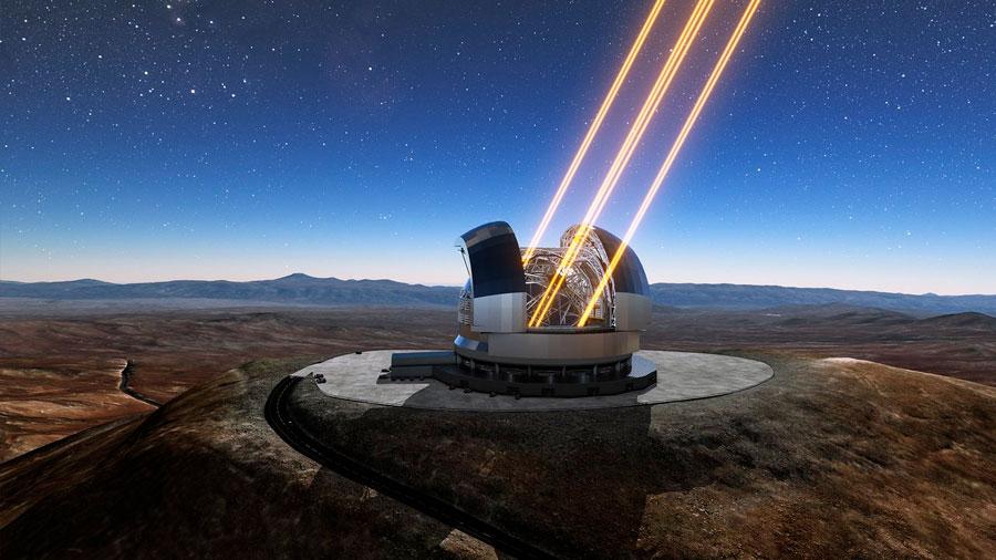 Comienza en Chile la construcción del mayor telescopio óptico del mundo