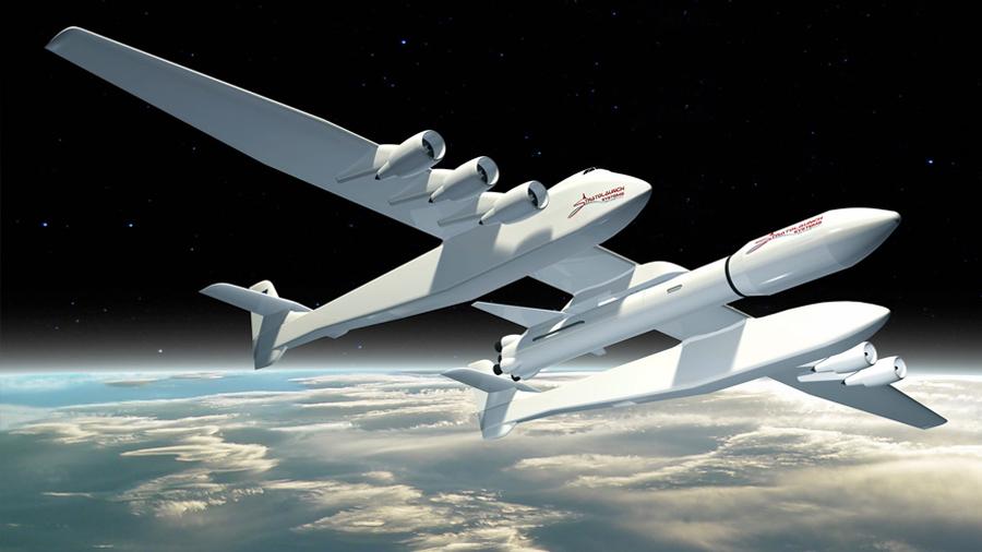 Las espectaculares cifras del Stratolaunch, el avión más grande jamás construido que acaban de presentar
