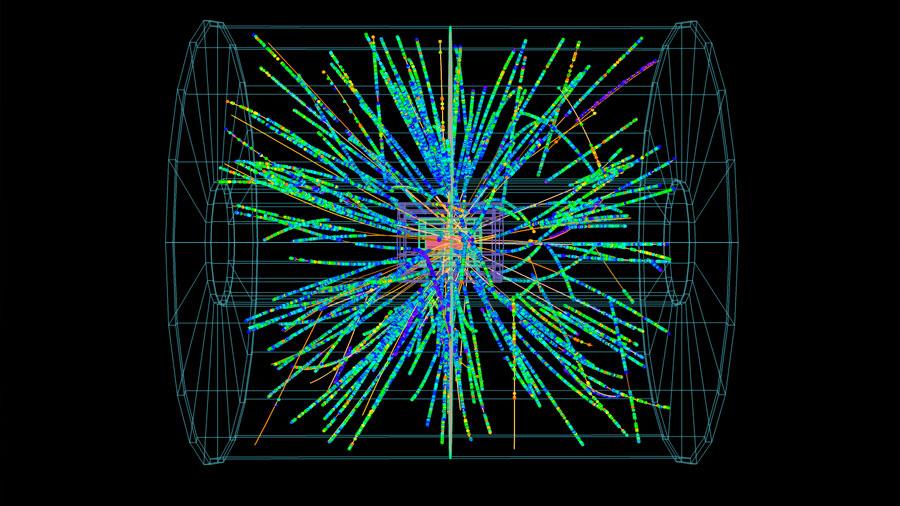 El LHC detecta una gran producción de partículas extrañas en colisiones de protones
