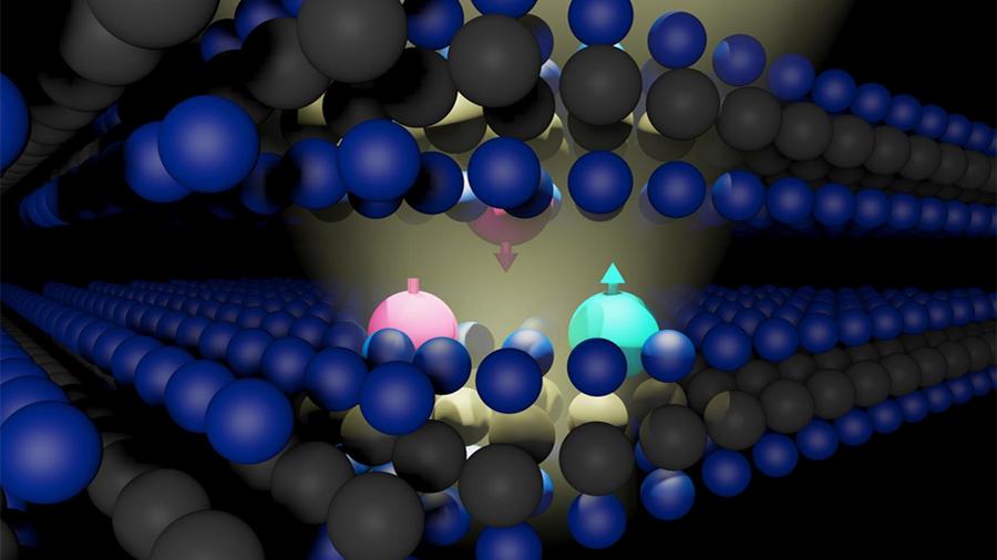 Se descubre magnetismo en un material 2D de espesor atómico