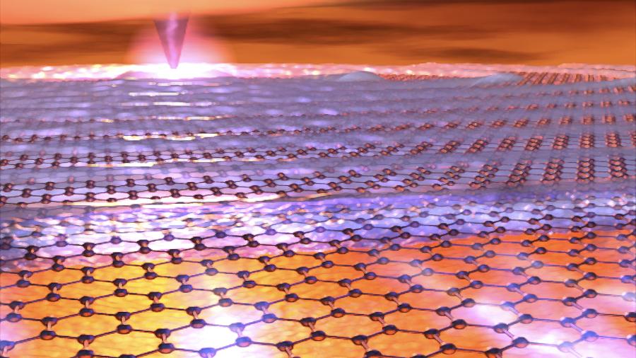 Logran observar la naturaleza cuántica del grafeno mediante la luz