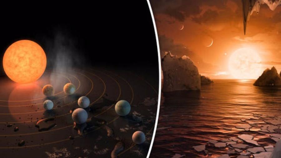 Explicación a la formación de siete planetas contiguos en TRAPPIST-1