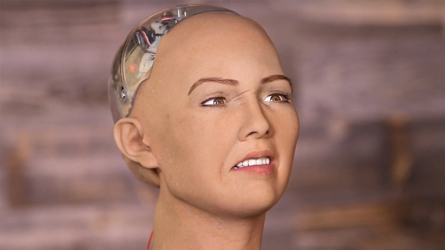 """Así es Sophia, la androide que sueña con ser """"tan inteligente como los humanos"""""""