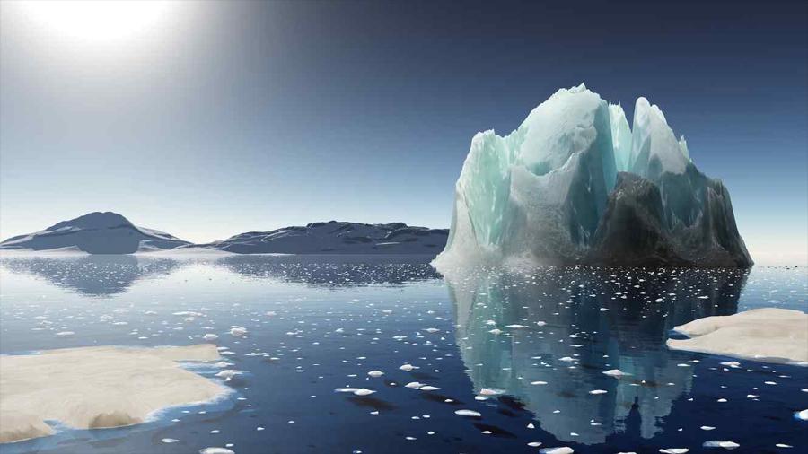 Deshielo de glaciar en la Antártida podría ser menor a lo previsto