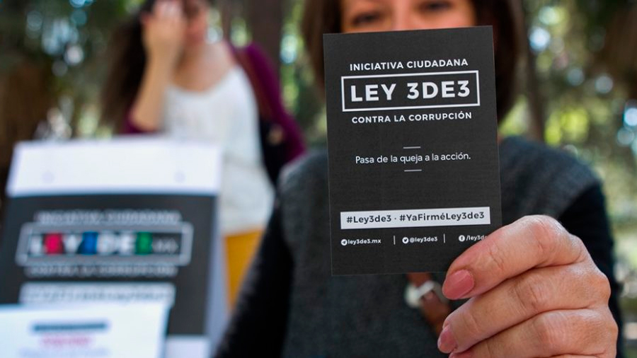 """Presidente del senado se congratuló con la decisión de la SCJN de ratificar validez de la llamada LEY """"3DE3"""""""