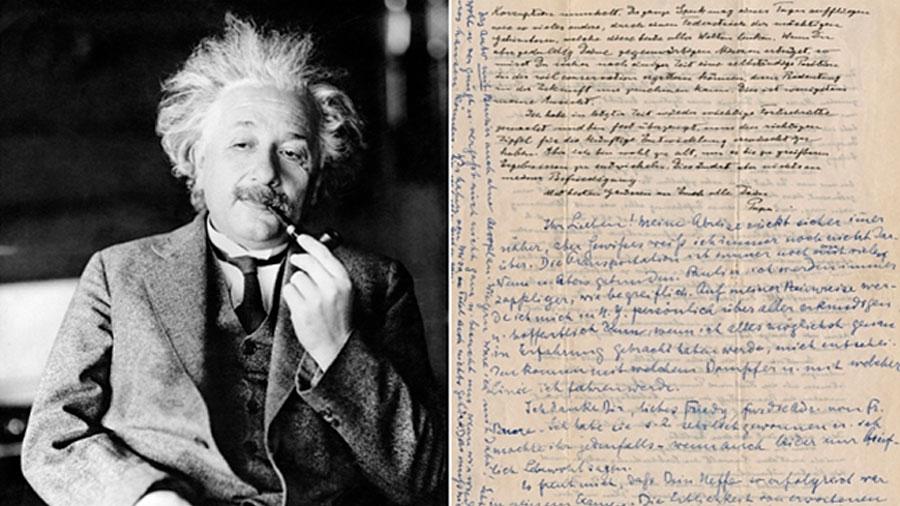 Cartas de Albert Einstein sobre la física y Dios serán subastadas en Israel