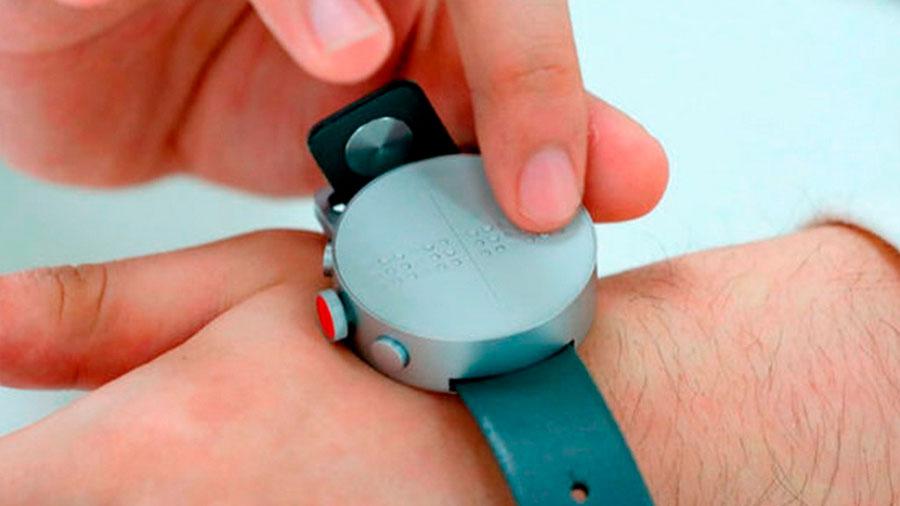 Cómo funciona DOT, el primer reloj inteligente para ciegos