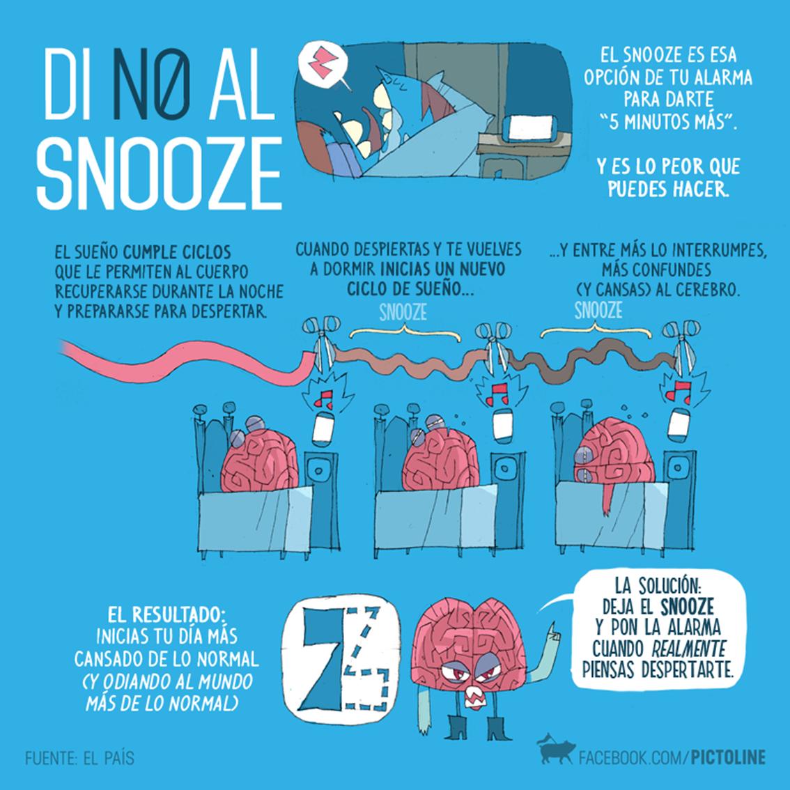 Di no al snooze