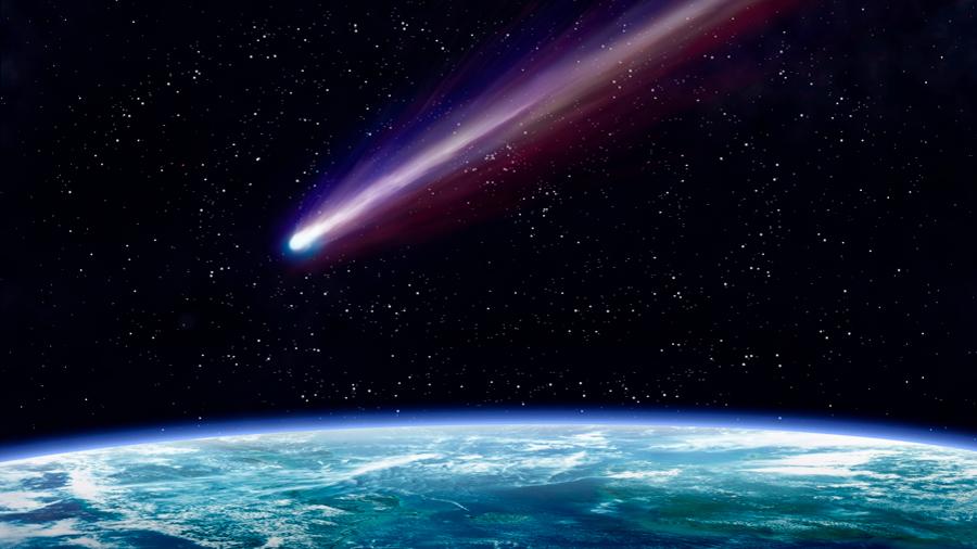 Los cometas y el xenón de la atmósfera de la Tierra