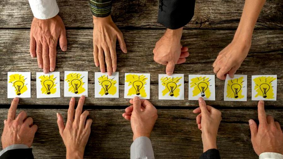 La gente creativa ve el mundo con otros ojos