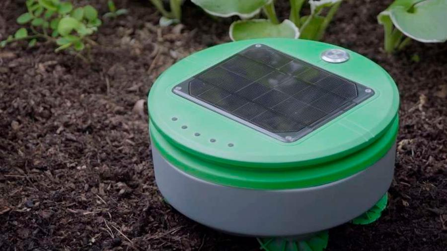 Video: el robot que cuida el jardín y se alimenta de luz solar