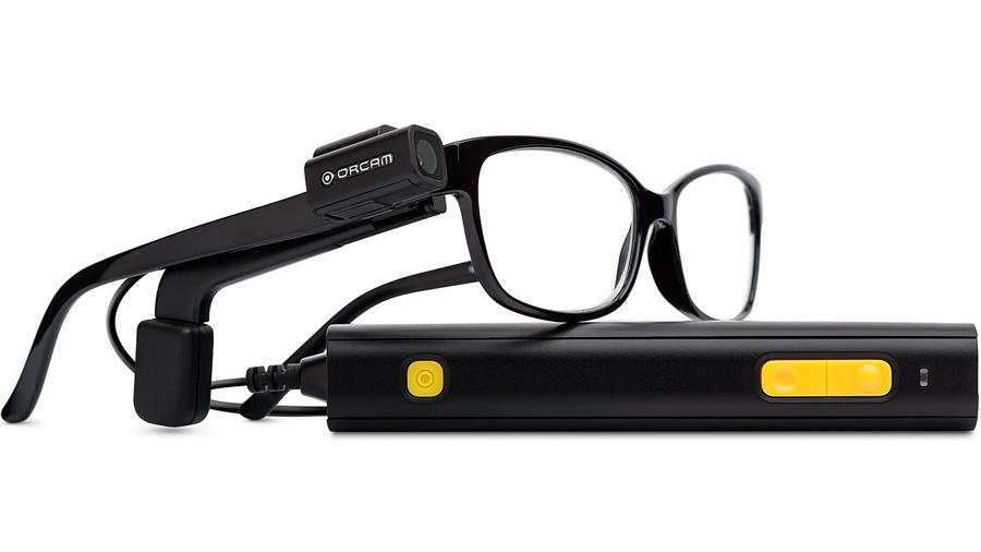 Las gafas de OrCam MyEye ayudan a las personas ciegas a leer y reconocer caras
