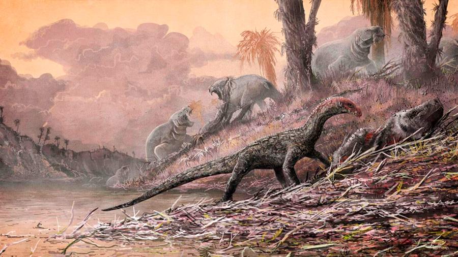 La era de los dinosaurios comenzó con un gran apocalipsis volcánico