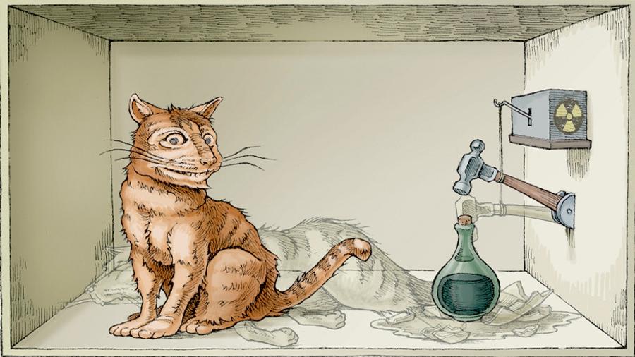 La suerte del gato de Schrödinger no la decide el observador