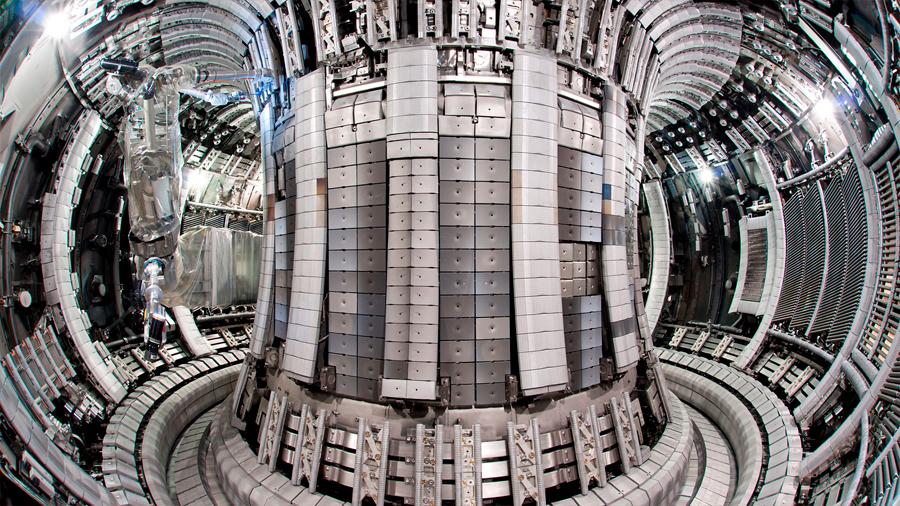Un sistema de freno para electrones acerca el reactor de fusión seguro