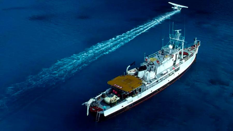 El 'Calypso' regresa 20 años después de la muerte de Cousteau
