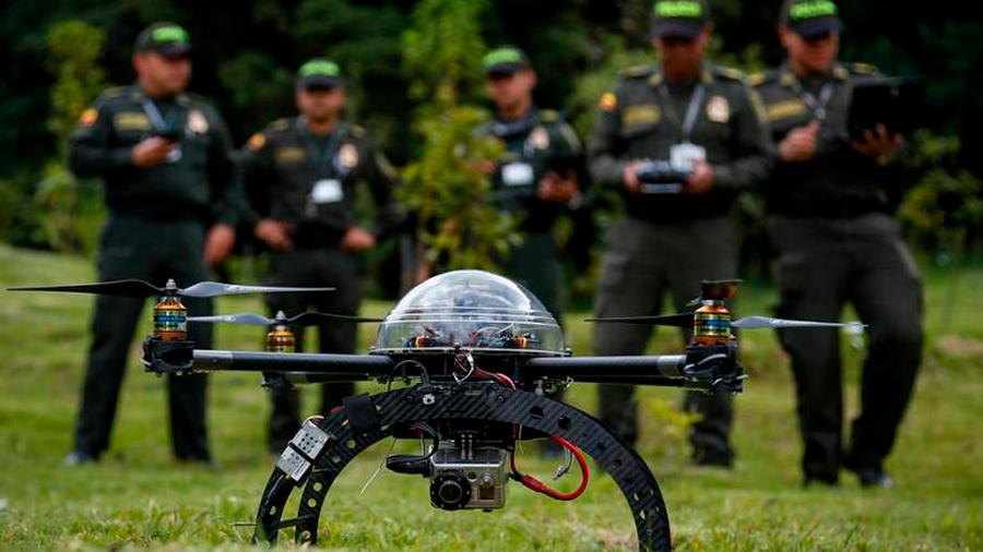 Más drones y cámaras en la frontera México-EU, mejor que el muro de Trump