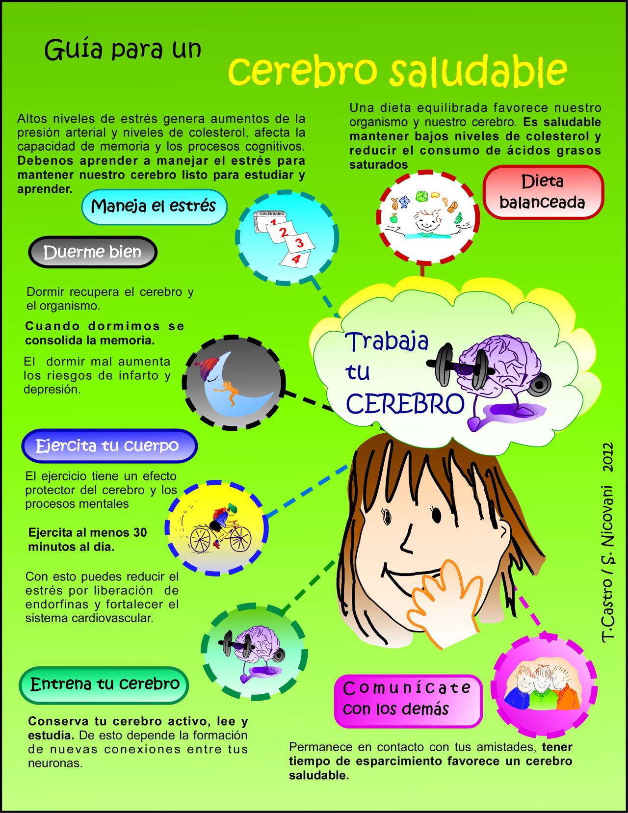 Guía para un cerebro saludable