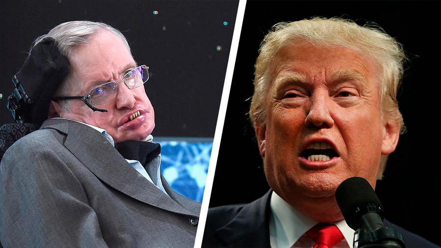 Stephen Hawking critica a Trump por negar el cambio climático