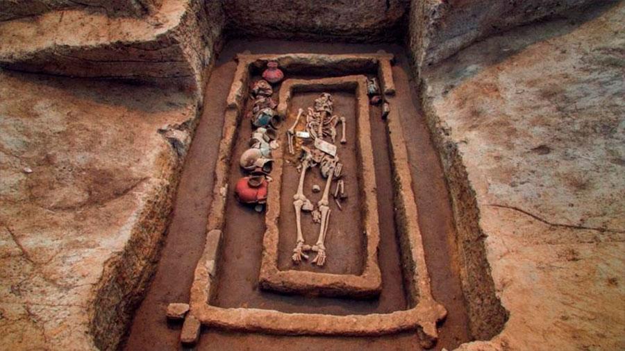Descubren en China los restos de unos 'gigantes' humanos de 5.000 años de antigüedad
