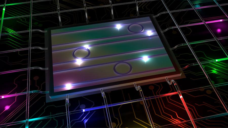 Crean fotones de colores capaces de generar hasta 9,000 dimensiones