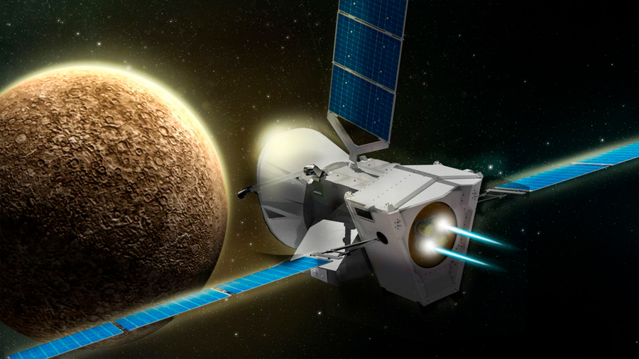 BepiColombo, la nave espacial que realizará la primera misión europea a Mercurio