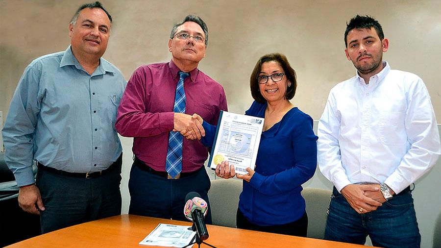 Patentan mexicanos dispositivo para medir propiedades térmicas en materiales para construcción