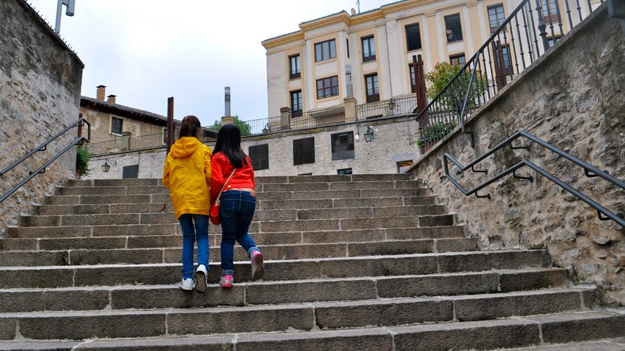 Desde ahora subir escaleras podría ser más fácil gracias a un nuevo mecanismo de ayuda