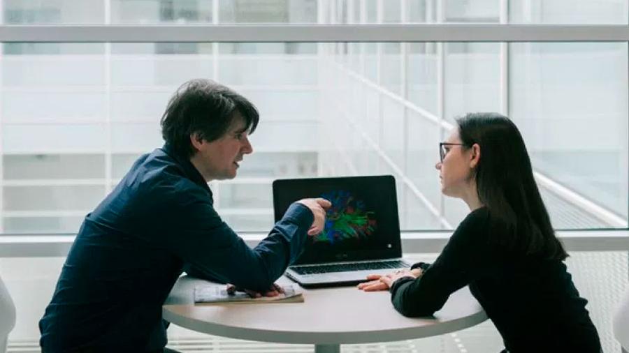 Nuestros cerebros se sincronizan durante una conversación