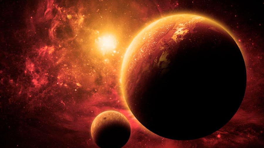 Señales de la primera luna descubierta fuera del Sistema Solar