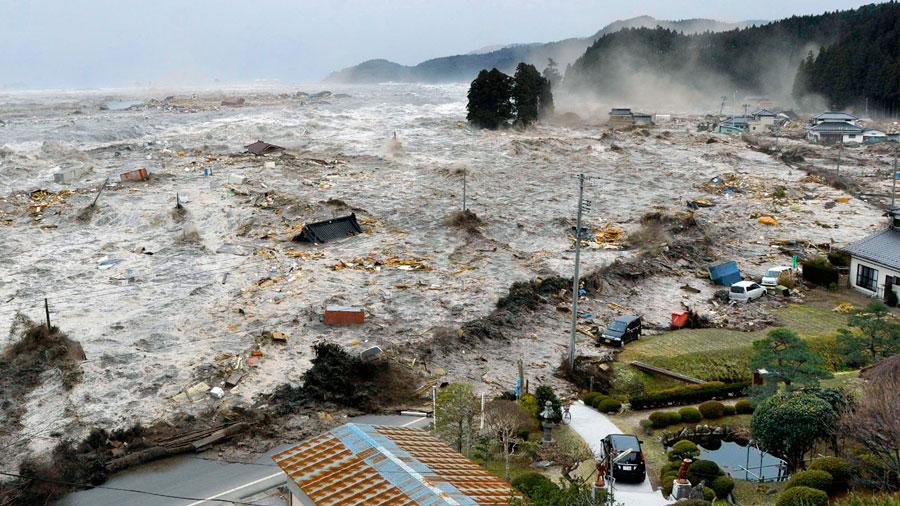 Los reveladores sonidos de los tsunamis