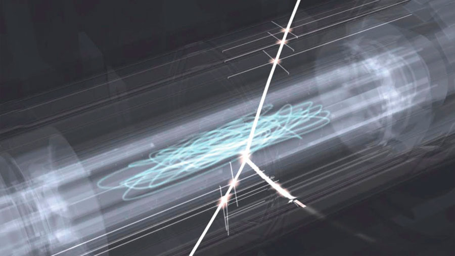 Primera observación de líneas espectrales de un átomo de antimateria