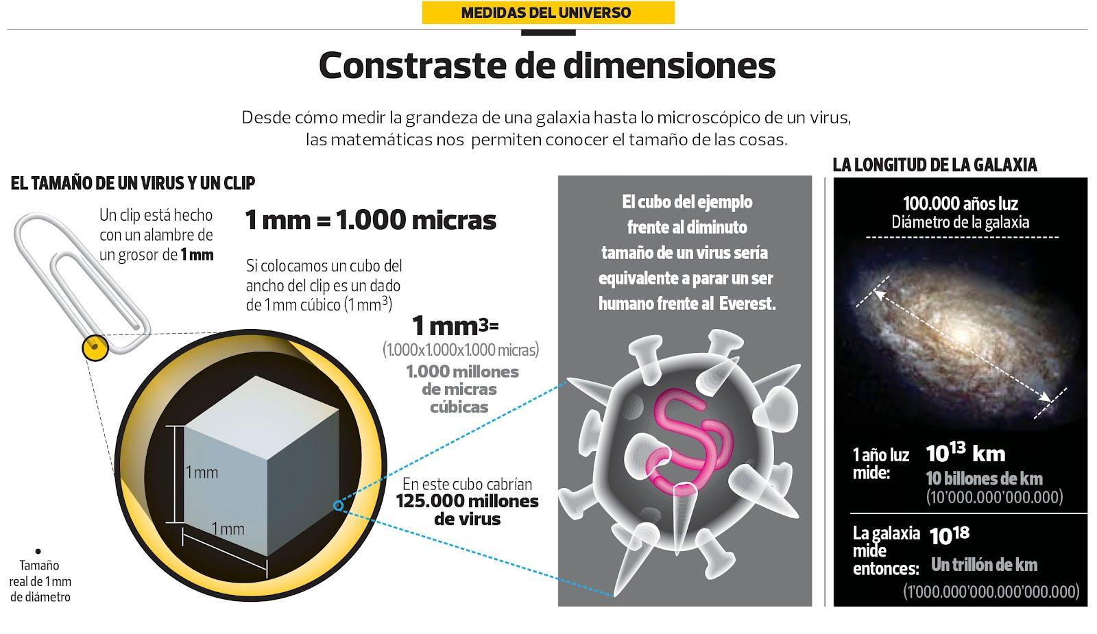 Contraste de dimensiones